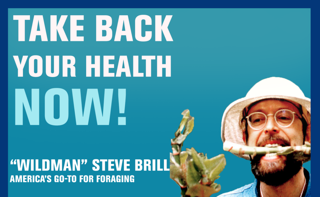 "13: Foraging May be the Health Skill You Are Missing — ""Wildman"" Steve Brill"